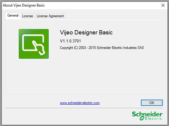 Vijeo Designer Basic 1.1 Build 3701